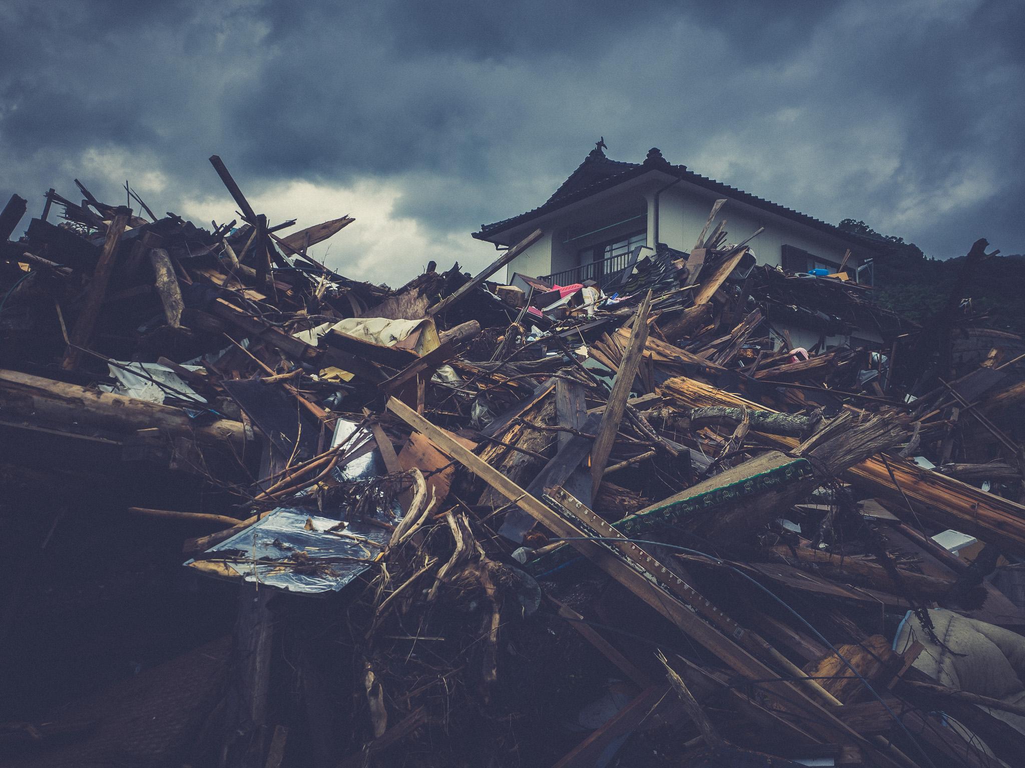 球磨村被害状況