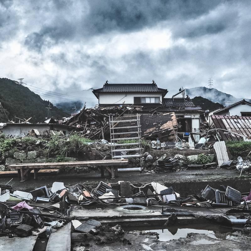 球磨川沿いの被災者でもある溝口さんと電話にて