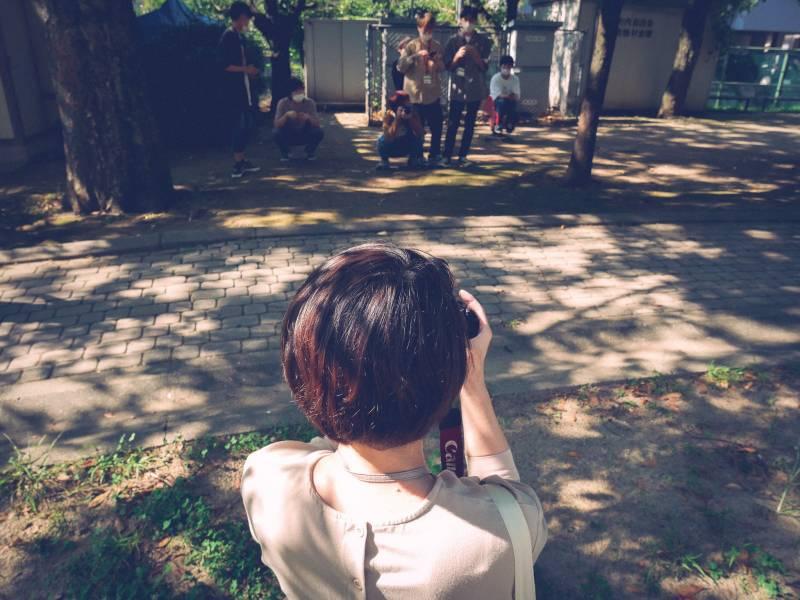 専門学校で写真の特別授業